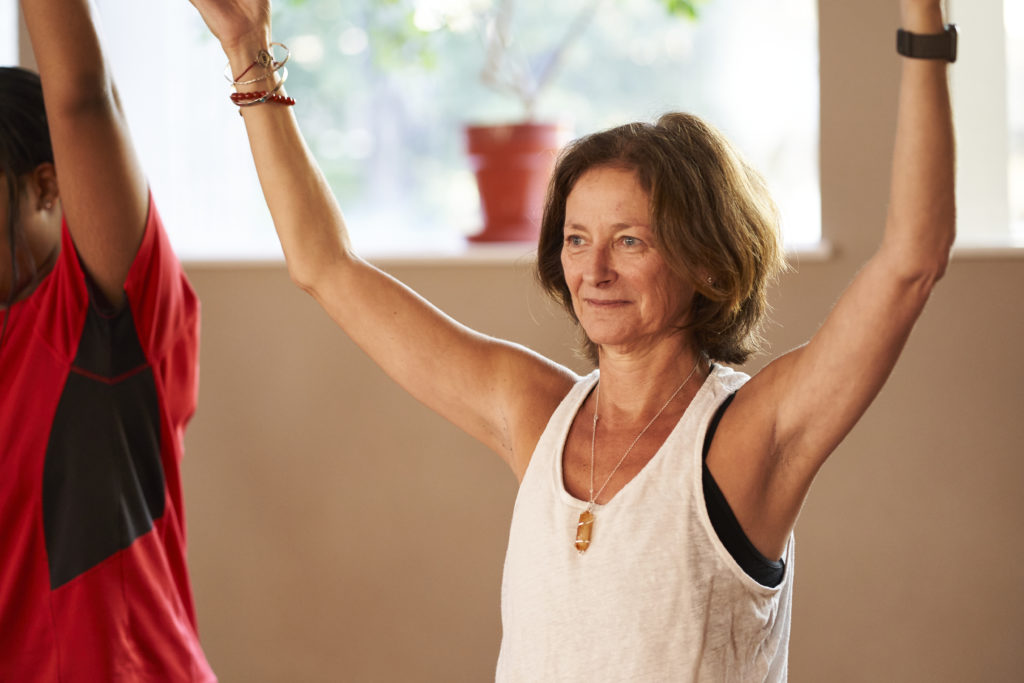Yoga and pilates menopause management